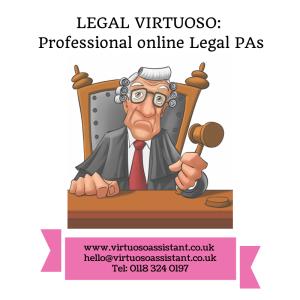 Professional online legal PAs, online legal secretaries