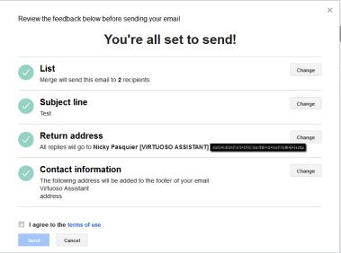 FEEDBACK: one final check!
