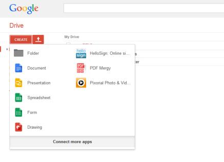 """Google Drive, """"Merge"""""""