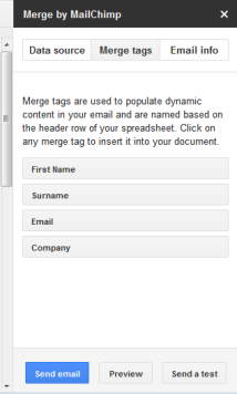MERGE TABS: check to ensure all the information is correct