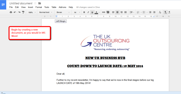DOCUMENT TEMPLATE: get creative by using eye-catching fonts, images & colours