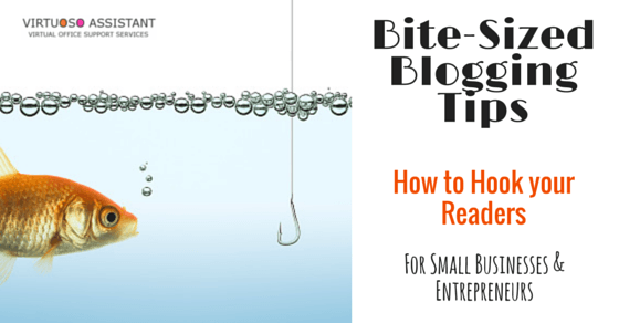 Business blogging tips how to hook readers
