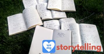 Martin Shervington notebooks